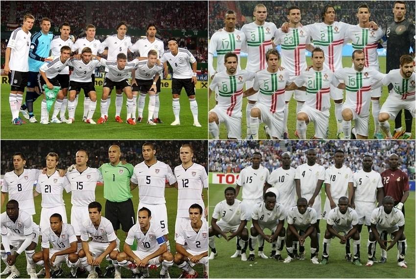 Svjetsko nogometno prvenstvo, Brazil 2014, Skupina G