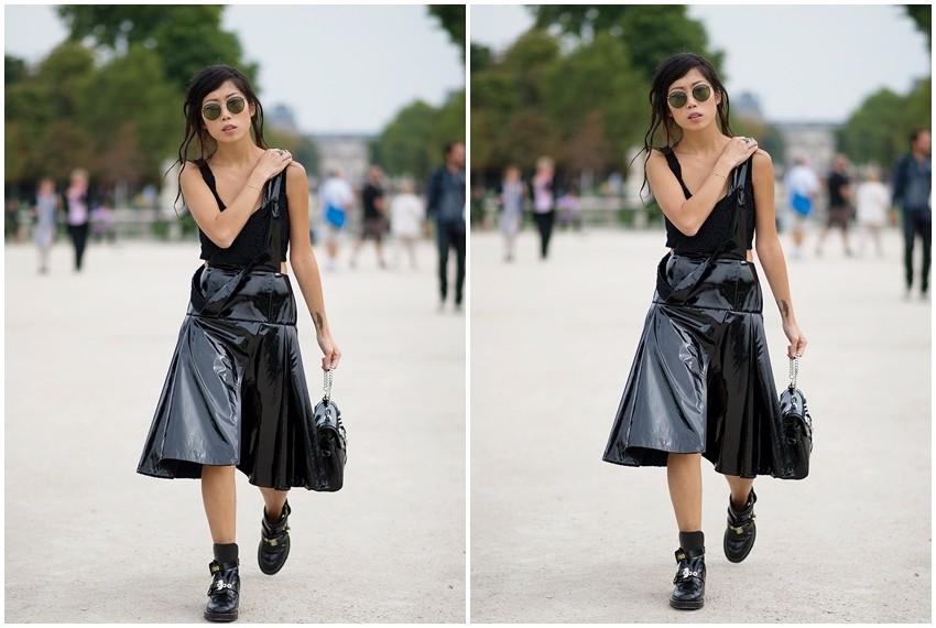 Crne stilske kombinacije za ljeto