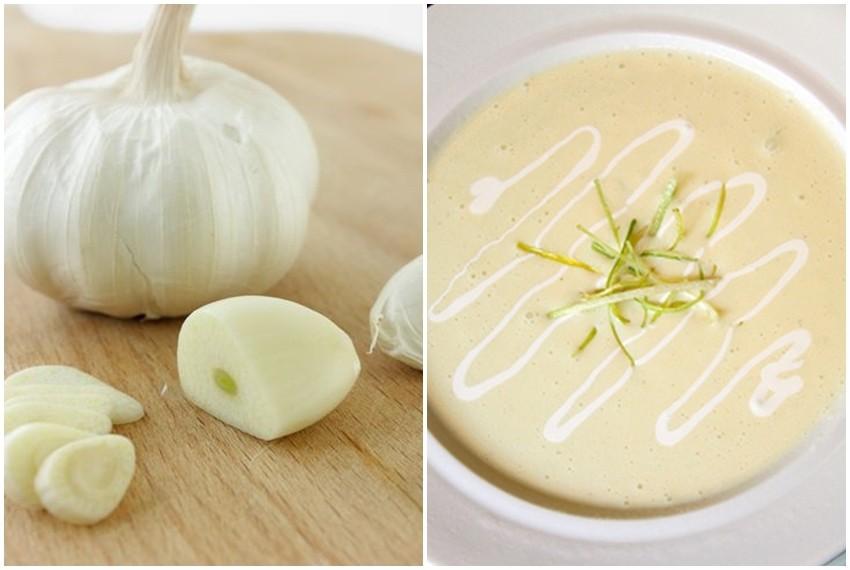Krem juha od češnjaka