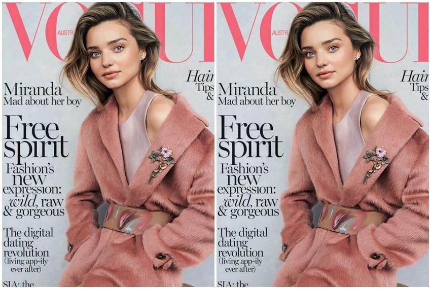 Miranda Kerr na naslovnici srpanjskog izdanja australskog Voguea