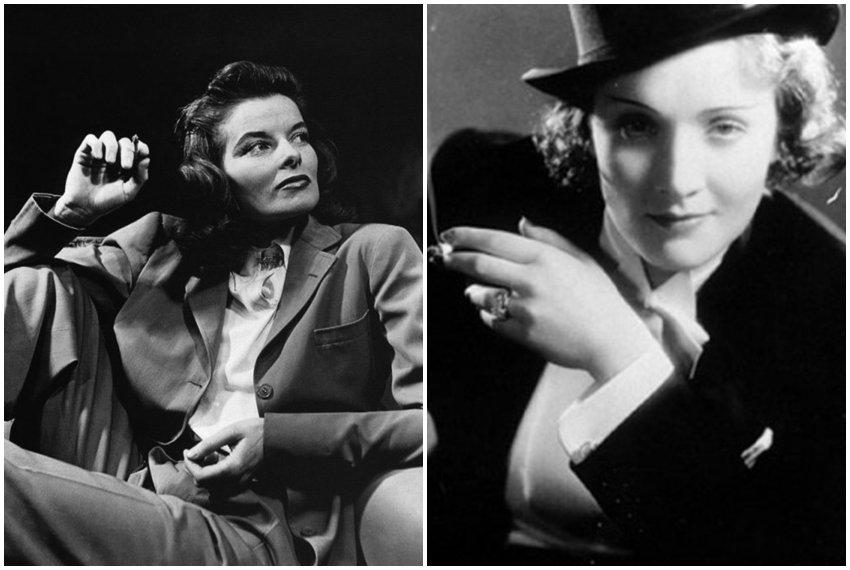 Katherine Hepburn i Marlene Dietrich