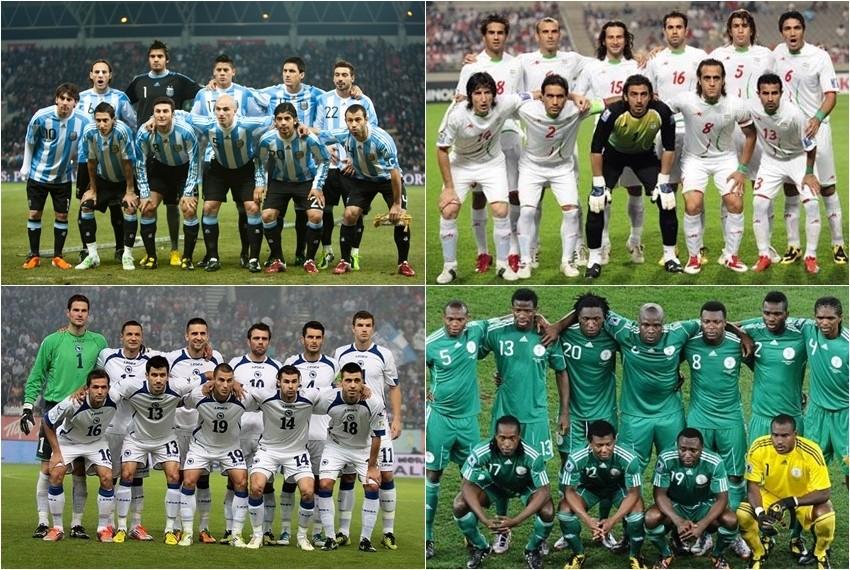 Svjetsko nogometno prvenstvo, Brazil 2014, Skupina F