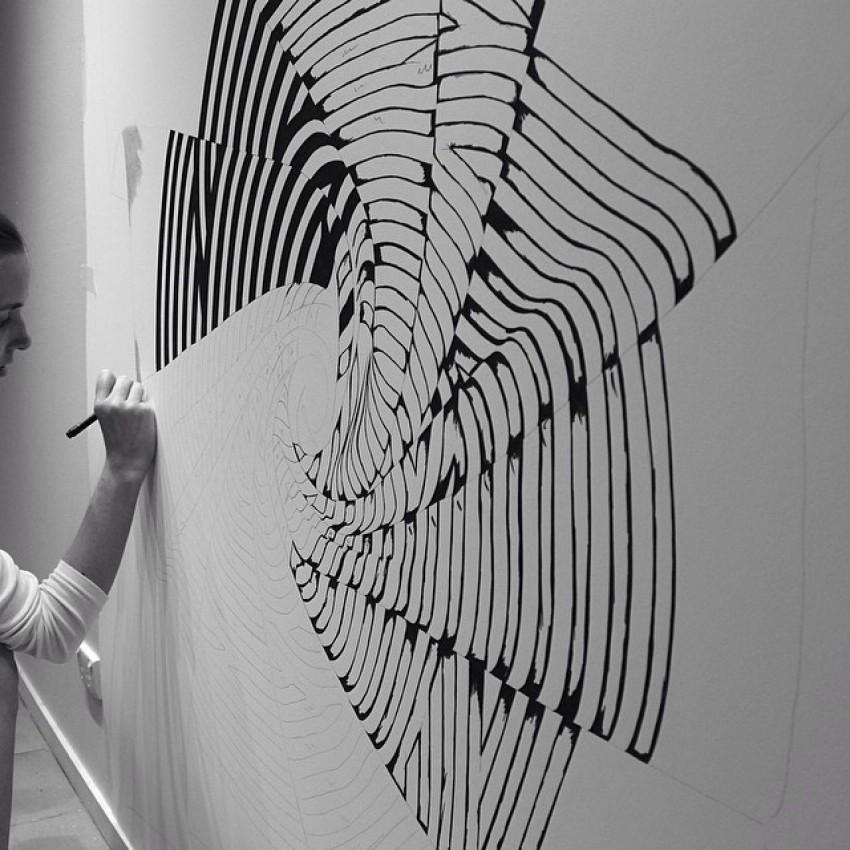 Australska umjetnica CJ Hendry