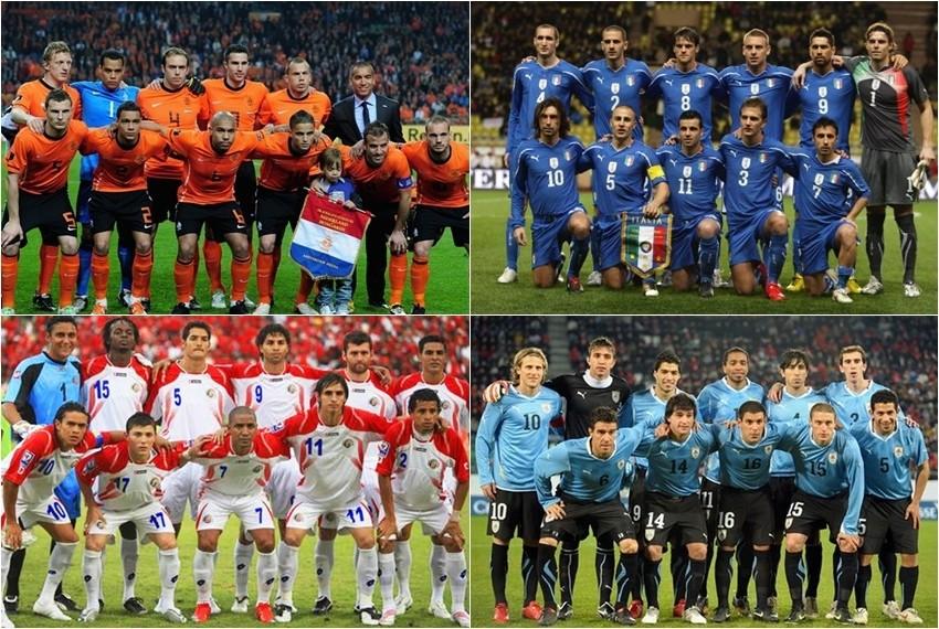 Svjetsko nogometno prvenstvo, Brazil 2014, Skupina D