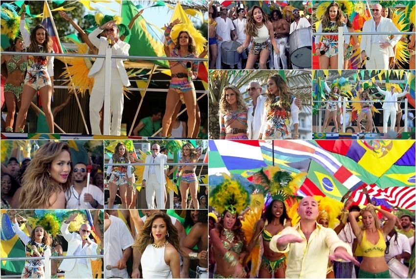 Pitbull feat. Jennifer Lopez & Claudia, We Are One (Ole Ola)