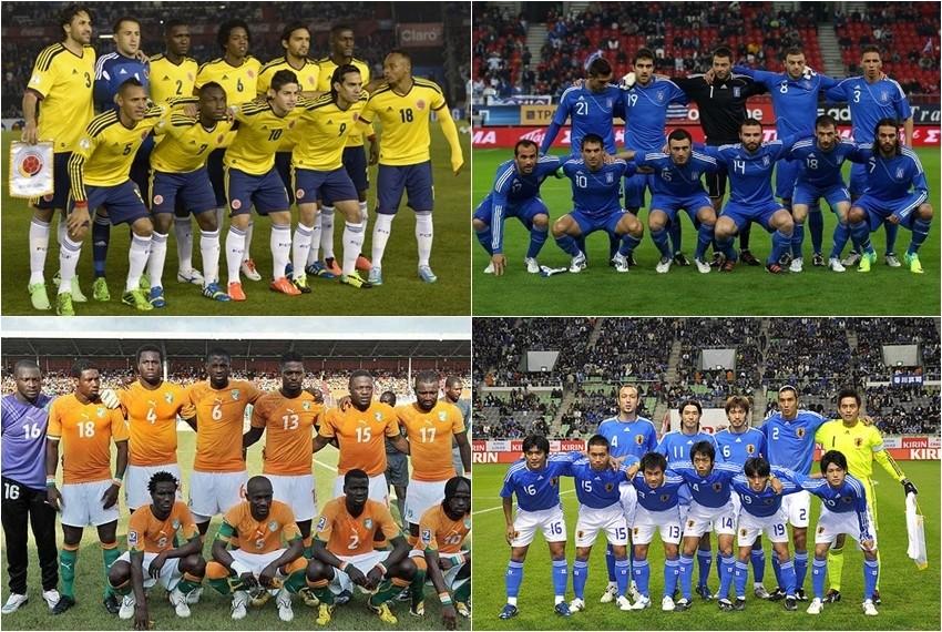 Svjetsko nogometno prvenstvo, Brazil 2014, Skupina C