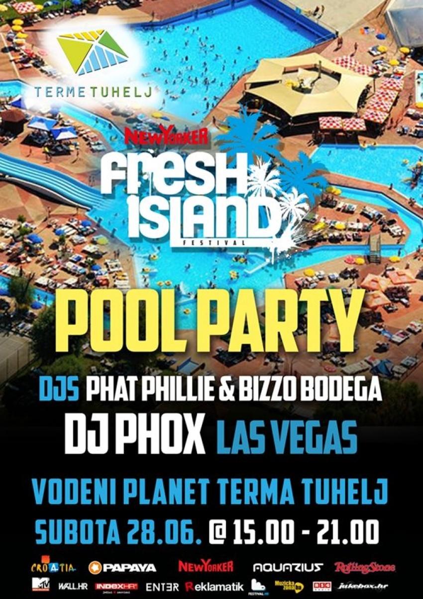 Fresh Island priprema veliki hip hop tulum na bazenima