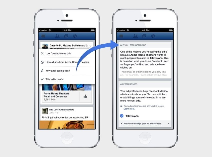 Facebook novosti