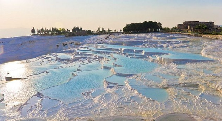 Pamukkale's Travertine Pools