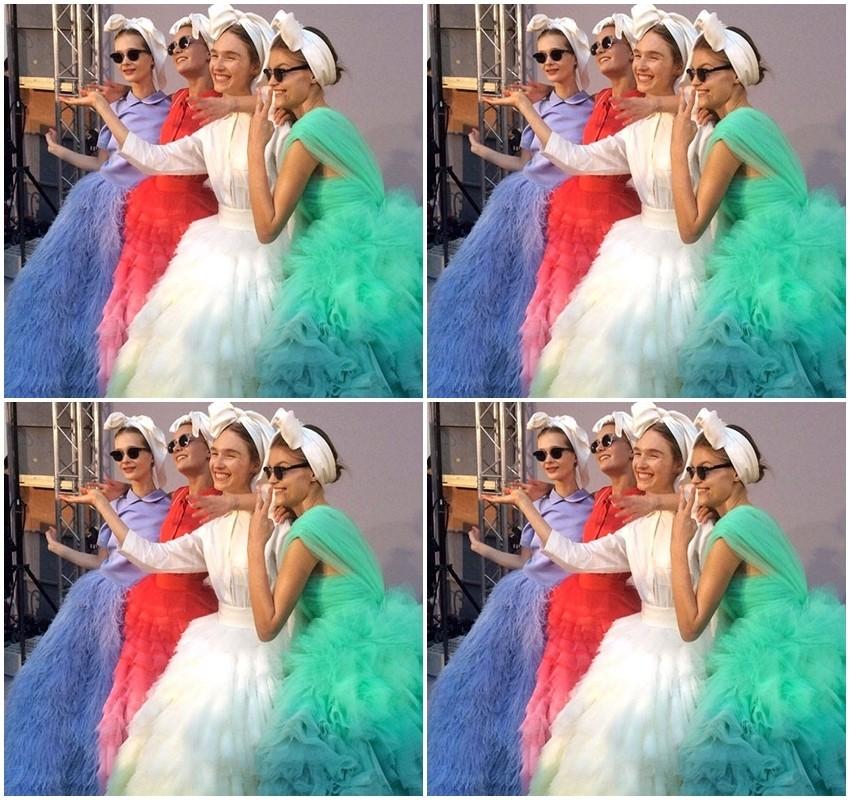 Couture Valli predstavio ultimativni ljetni dodatak: Bijelu maramu