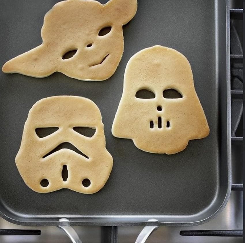 Darth Vaderovske palačinke za dobar početak dana