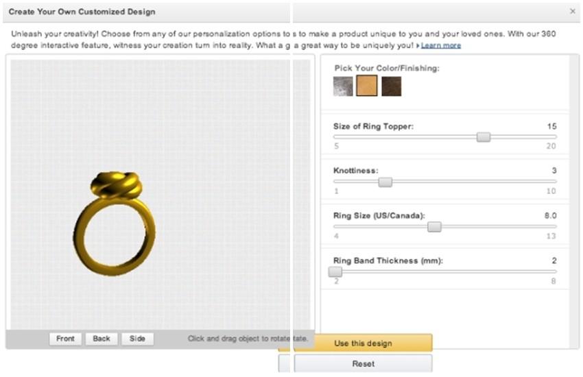 Personalizirajte prvi nakit iz 3D printera