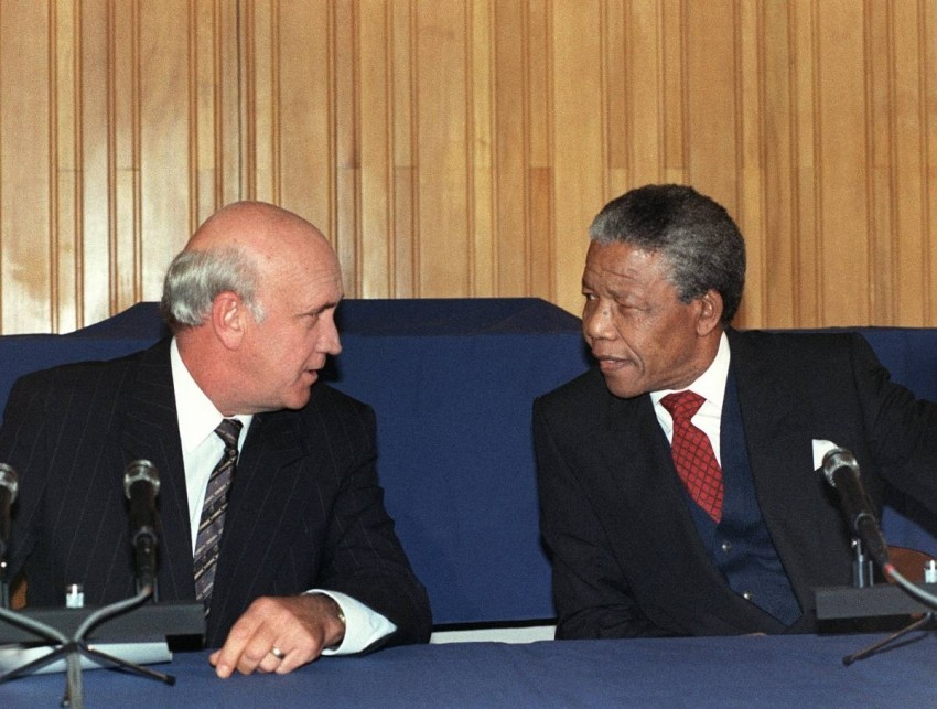 End of Apartheid — 1994