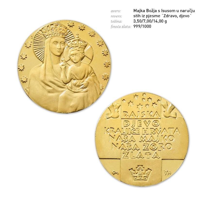 Zlatnici kao najbolji poklon za pričest, krizmu, krštenje, vjenčanje