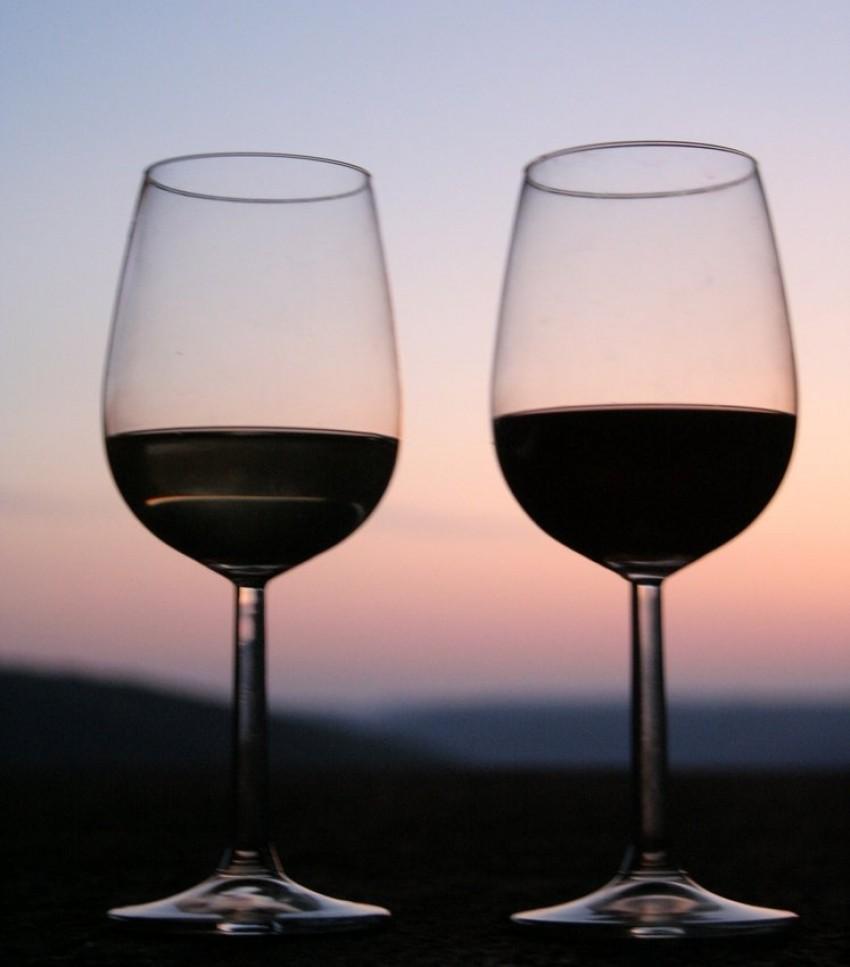Vino u čašama