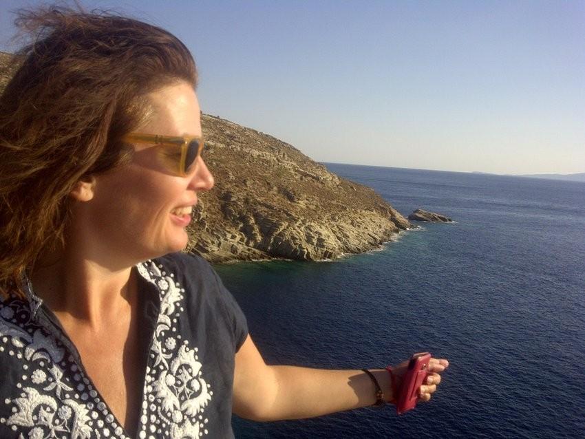 Snježana Banović na odmoru u Grčkoj