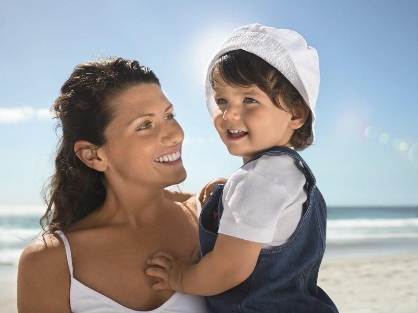 Ljeto, sunce, more, djeca, obitelj