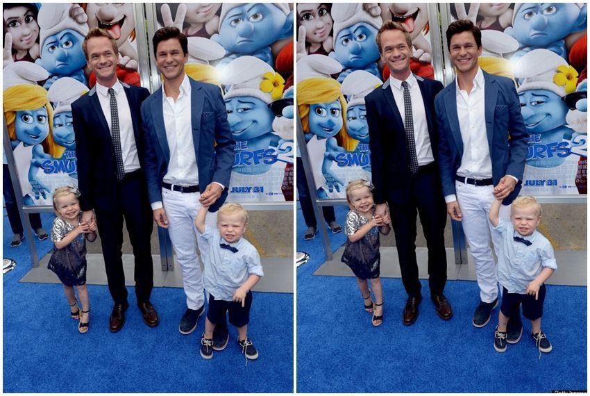 Neil Patrick Harris s obitelji
