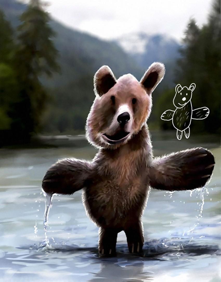 Svi smo ovako crtali medu!