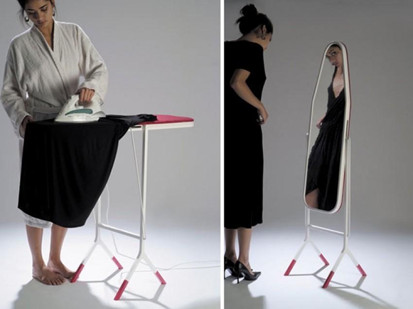 Stol za glačanje/ogledalo