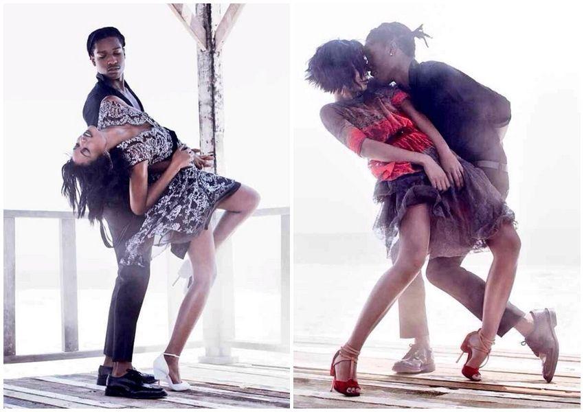 A$AP Rocky i Chanel Iman zajedno u novom Vogueu