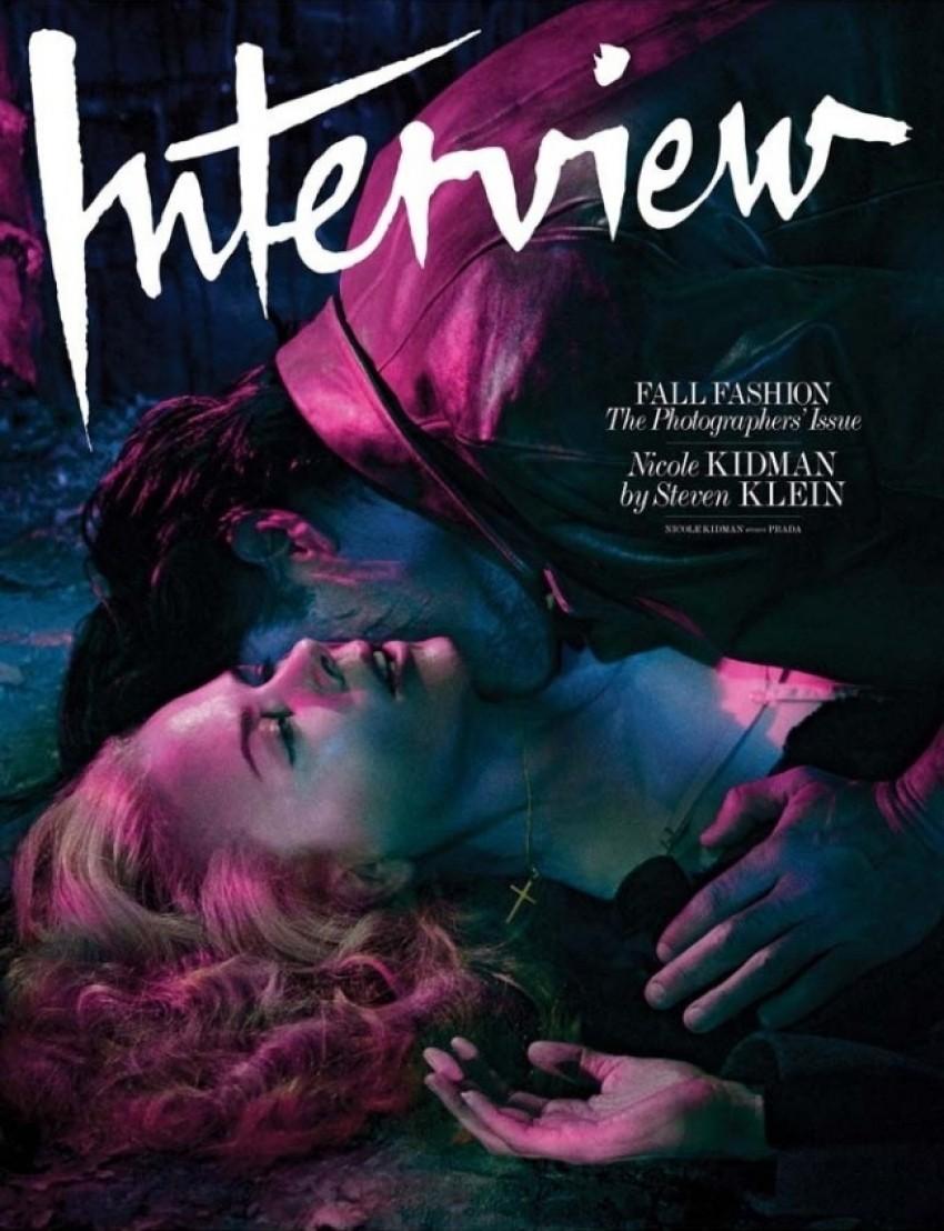 Nicole Kidman ispred objektiva Stevena Kleina za rujansko izdanje magazina Interview, 2014
