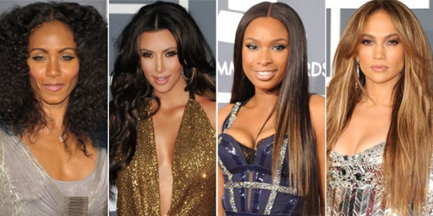 Jada Pinkett-Smith, Kim Kardashian, Jennifer Hudson, Jennifer Lopez