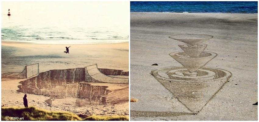 Nevjerojatne 3D slike u pijesku