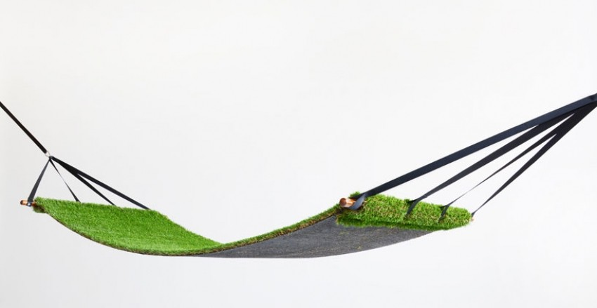 Travnata viseća ležaljka