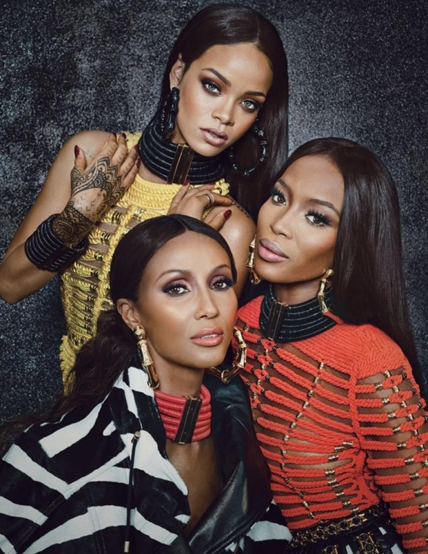 Ovo su najbolji editorijali rujanskog W magazinea: Rihanna, Naomi, Iman i Mariacarla