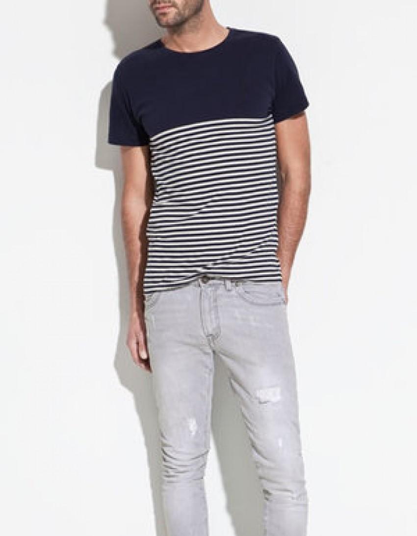 Zara Man's Striped T-shirt