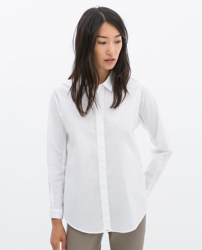 Zara Poplin Shirt (299,90kn)