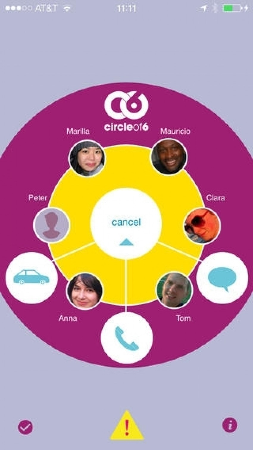 Circle Of Six App