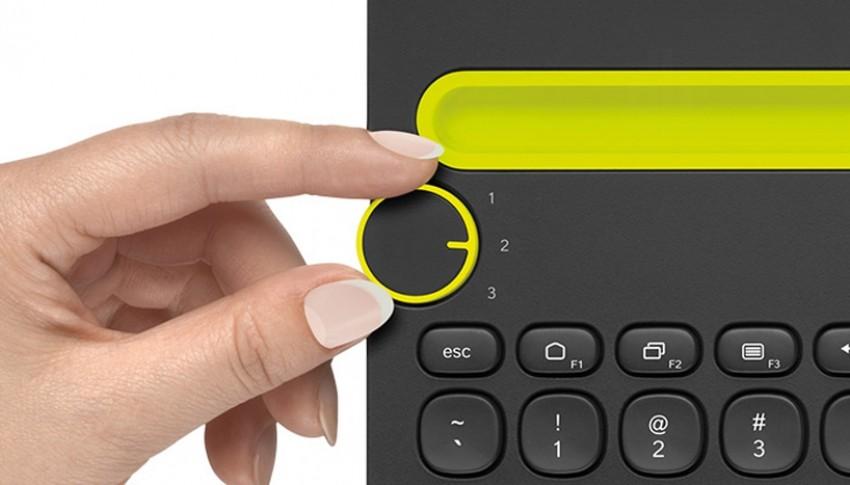 Okretom gumba zamijenite gadget koji želite koristiti
