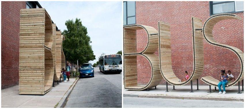 Neobična autobusna stanica u Baltimoreu
