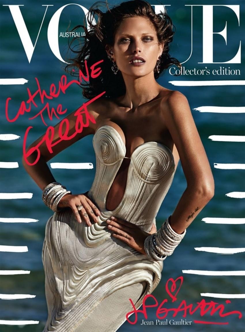 Nevjerojatno seksi naslovnica australskog Voguea