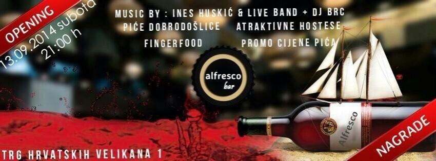 Dođite na otvaranje novog IT mjesta u Zagrebu: Alfresco bar!