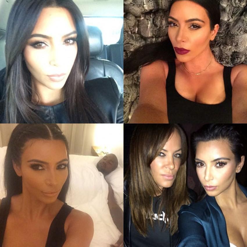 Kraljica selfija - Kim Kardashian (Instagram)