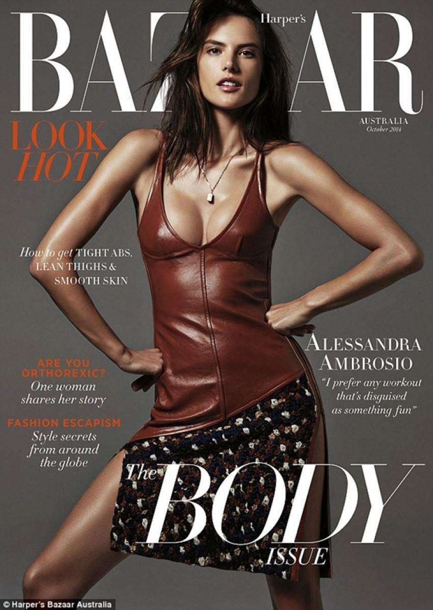 Alessandra Ambrosio je neopterećeno seksi