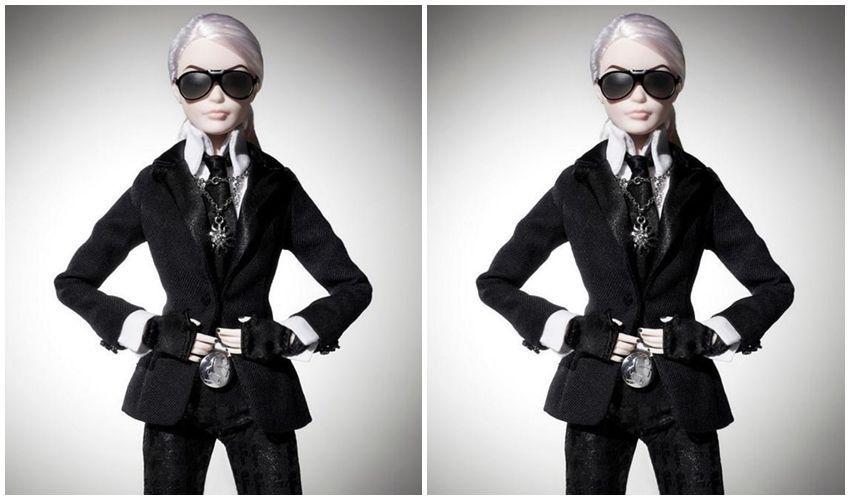 Prvi pogled na poželjnu Lagerfeld Barbie