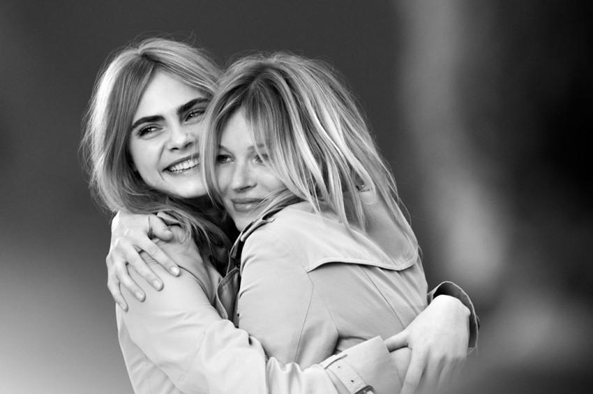 Može li bolje? Kate Moss i Cara Delevigne zajedno za Burberry
