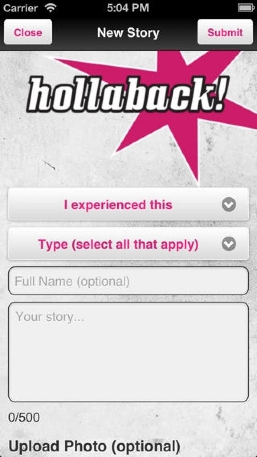 Hollaback App