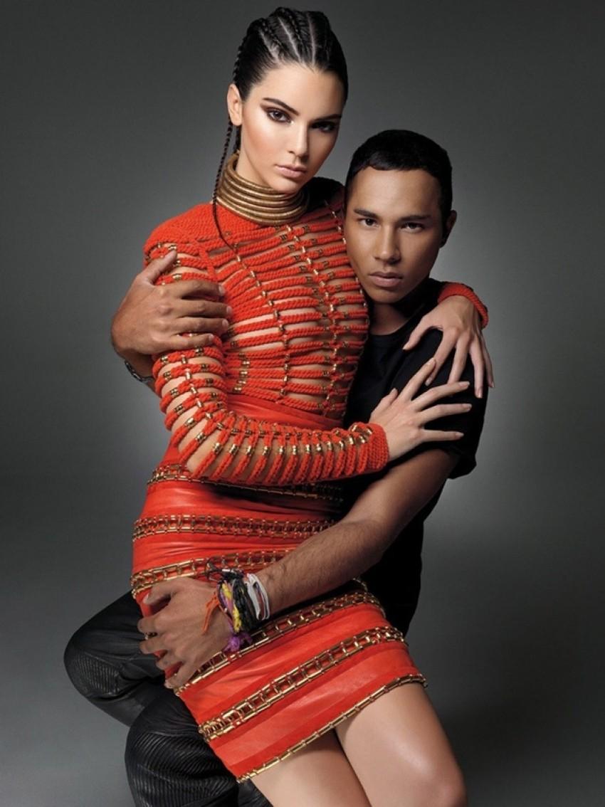 Seksi u Balmainu: Olivier i Kendall izgledaju savršeno zajedno