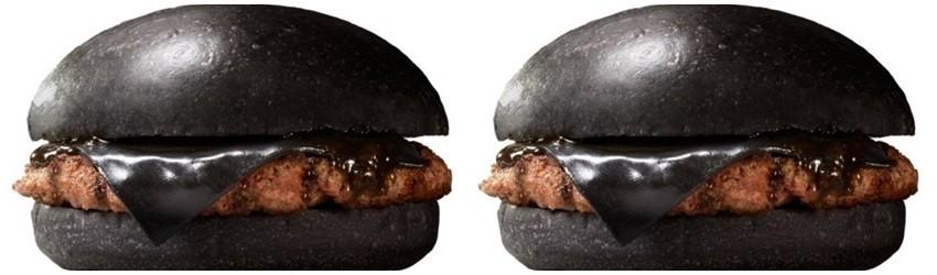U Japanu možete jesti crni hamburger!