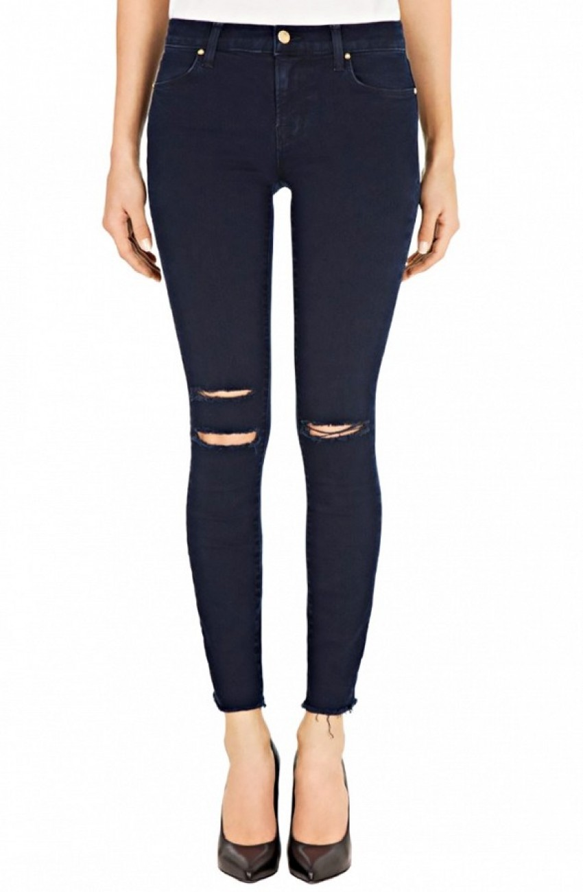 J Brand 8227 Photo Ready Ankle Skinny Jeans ($218) in Blue Mercy