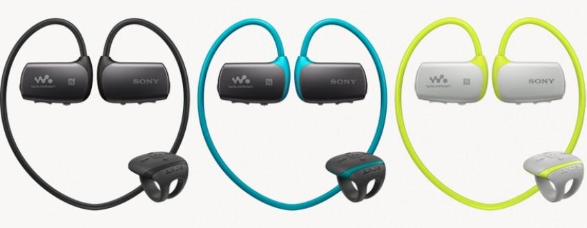 Vodootporne Sony Walkman slušalice dostupne su u tri boje