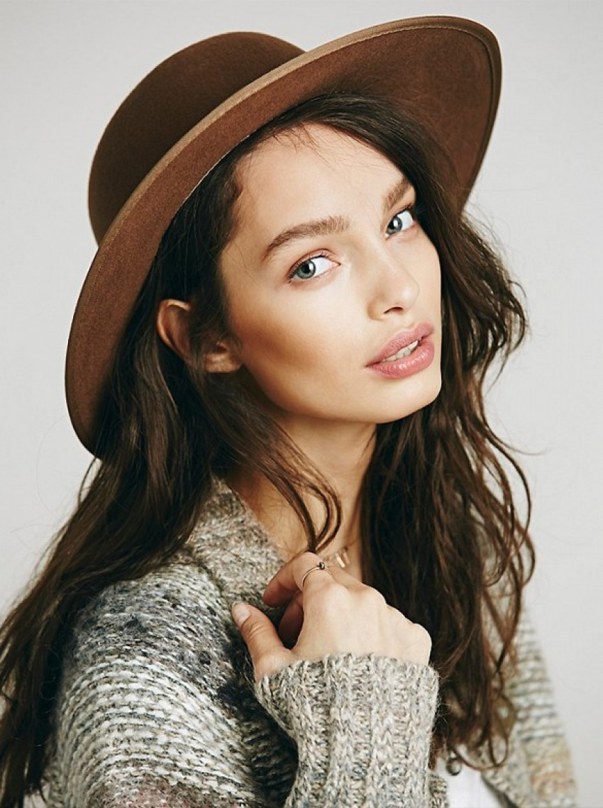Free People Miguel Round Top Floppy Hat