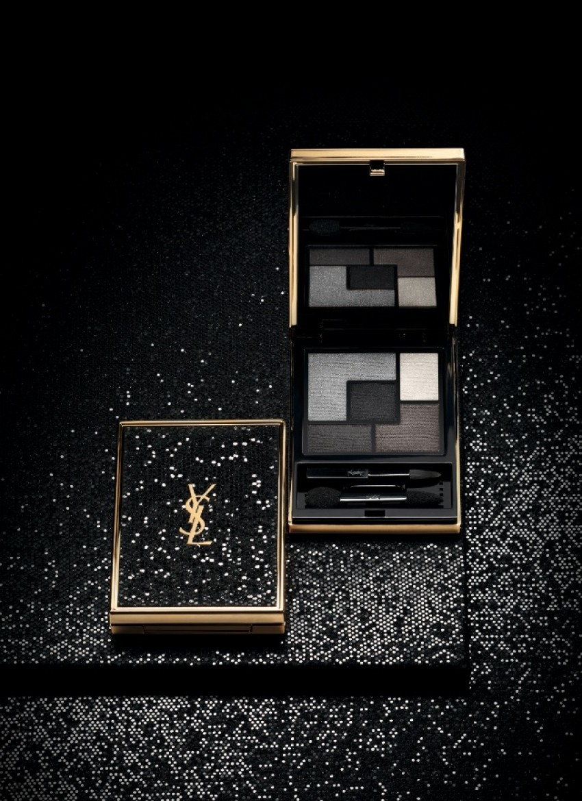 YSL Wildly Gold Holiday 2014.