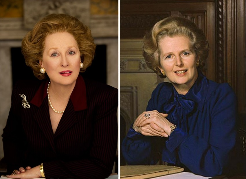 Meryl Streep kao Margaret Thatcher u filmu The Iron Lady