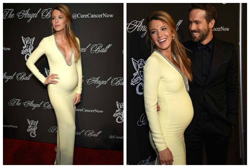 Blake Lively i Ryan Reynolds na Angel Ballu 2014